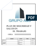 Plan de Seguridad (Modelo)