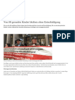 Von SS Geraubte Kinder Bleiben Ohne Entschädigung - Europa - DW - 06.07.2018