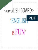 English Board