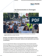 Protest in Dormagen- -Kindeswohl-Demo Mit 1000 Teilnehmern