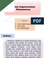ASKEP DISMENOREA