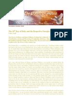 Golden Key Teachings - October 2010