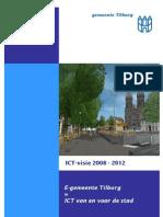 Ict Visie 2008 2012 Gemeente Tilburg