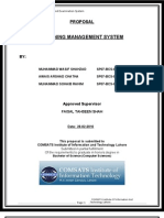 Final Year Project Proposal (Distance Education Management Sysyem) (DEMS)