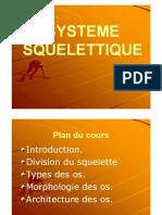 0-Système Squelettique et Osseux