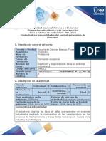 Guía de Actividades y Rubrica de Evaluación - Pre Saberes - Pre Tarea - Contextualizar Generalidades Del Control Automático de Procesos