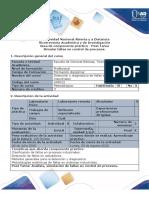 Guía Para El Desarrollo Del Componente Práctico - Post Tarea - Simular Fallas en Control de Procesos