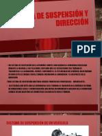 Sistema de Suspensión y Dirección