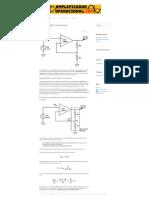 Amplificador no inversor _ Fórmulas, EJEMPLOS y circuitos!