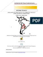Gran Chaco Monitoreo Del 26 de Noviembre Al 16 de Diciembre de 2010