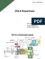 D375A-6 Power train Rev3