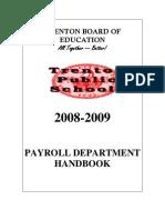 2008-2009 Hand Book