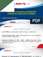 _Verificación del Cumplimiento e Implementación del Plan de Vigilancia, Prevención y Control del COVID en el Trabajo