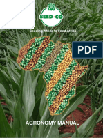 Seed Co Agronomy Manual