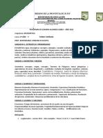 PROGRAMA LIBRES MATEMATICA 2°AÑO ADRIANA ACOSTA