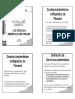 Los Servicios Ambientales Caso Panamá