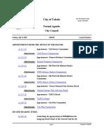 Toledo City Council Agenda, July 14