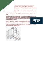 En la fabricación de los módulos se utiliza concreto de alta resistencia