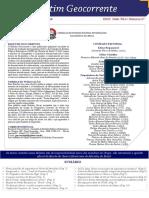 Boletim Geocorrente 37 - 01 JUL 2016