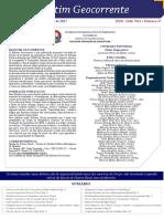 Boletim Geocorrente 47 - 02 FEV 2017