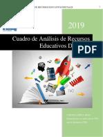 Análisis de recursos educativos digitales ubicados en repositorios
