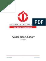 05_RETIRO MARIA, MODELO DE FE - QUINTO DIA
