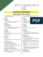 cuestionario historia universal 1 pae lic