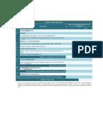 Ejemplo de estructura de costos PDF
