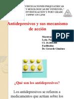 Antidepresivos y sus mecanismo de acción_Paola Gómez