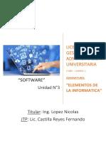 Unidad 3 - Informatica