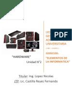 Unidad 2 parte 1 - Informatica