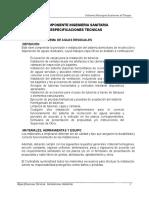 ESPECIF INGENIERIA SANITARIA impreso