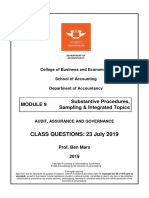 Module 9 - Substantive Proc - Class Q - 23 July