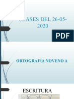CLASES 26-05-2020