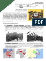 guia N° 5 - 2do Medio historia - La Segunda Guerra Mundial - Desarrollo