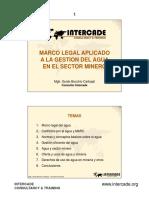 5_marco legal aplicado a la gestión del agua CAMIPER