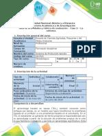 Guia de actividades y rúbrica de evaluación - Fase 3 - La colmena