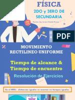 MOVIMIENTO RECTILÍNEO UNIFORME II