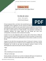 Un día de estos - Gabriel García Márquez - Ciudad Seva - Luis López Nieves.pdf