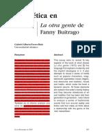 La Poética de Fanny Buitrago