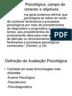 AvaliaçãoPsicológicapartefrançois[2]