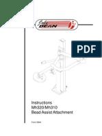 Manual Mh320