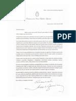 Carta de Fernández