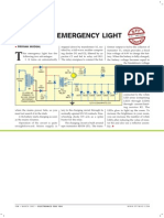 Automatic Emergency Light