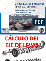 CALCULO EJE DE LEVAS