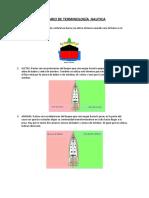 GLOSARIO DE TERMINOLOGÍA NAUTICA tarea-convertido