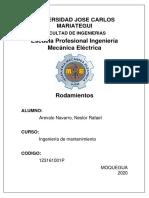 Arevalo Navarro N. Rodamientos..pdf