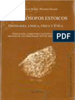 Boeri & Salles. Los Filósofos Estoicos-Ontología, Lógica y Ética