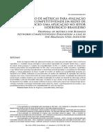 2014 - ReA - Proposição de Métricas para Avaliação da Competitividade em Redes...