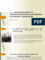 LAS HABILIDADES BLANDAS Y EL DESARROLLO PROFESIONAL SON
